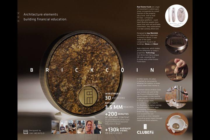 Brick coin - Clube FII - Financial Education