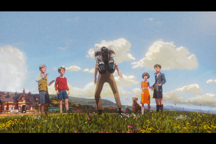 Five And The Jetpack - Train Travel - Great Western Railway