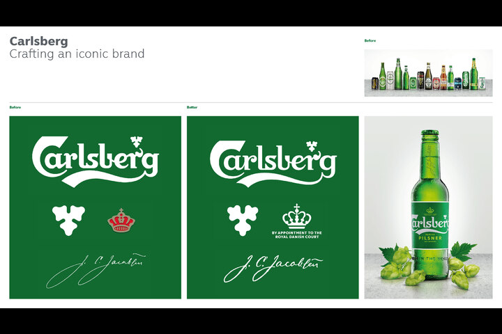 Crafting an Iconic Brand - Danish Lager - Carlsberg
