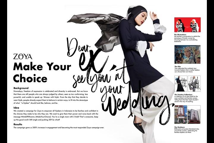 Make Your Choice - Hijab Fashion - ZOYA