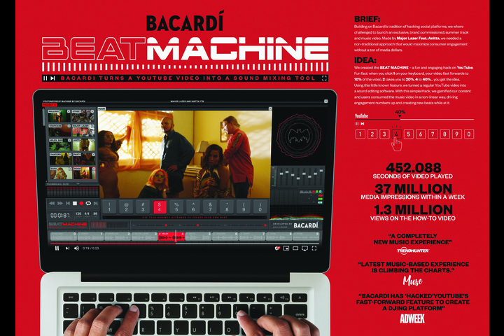 Beat Machine - Bacardi - Bacardi