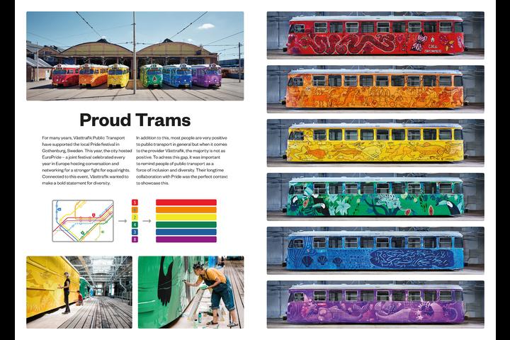 Proud Trams - Public transport - Västtrafik
