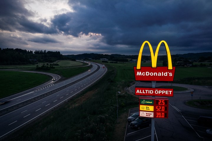 McCharge - Fast food & charging stations - McDonald's Sweden