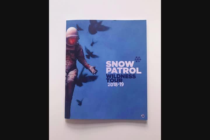 Snow Patrol Wildness Tour 2018-19 Official Tour Programme - Official Tour Programme - Snow Patrol