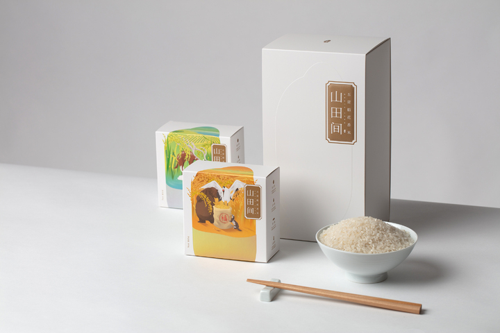 North Farm Rice - North Farm Rice - Rice Packaging Design