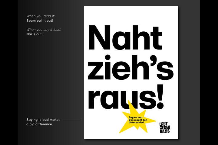 Say it loud. Make a difference. - Laut gegen Nazis - Laut gegen Nazis e.V.