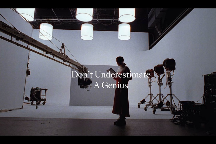 Never Underestimate a Genius - Moncler - Management + Artists