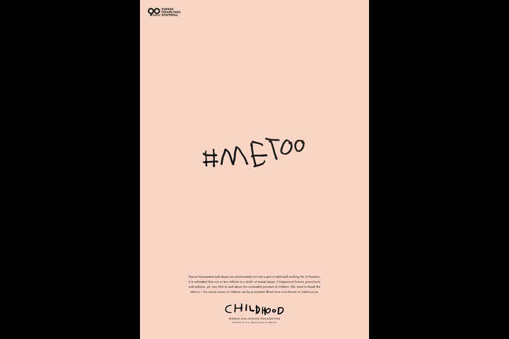 #metoo - Children´s rights organization - Childhood