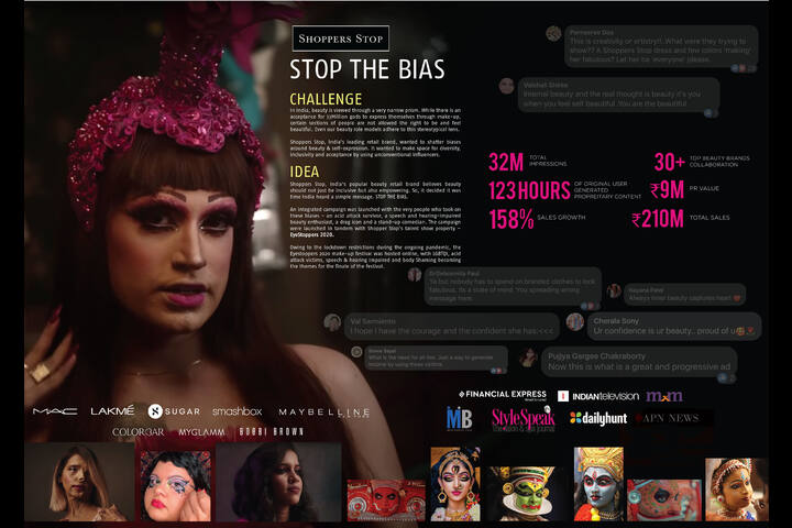 Stop The Bias - Retail - Shoppers Stop