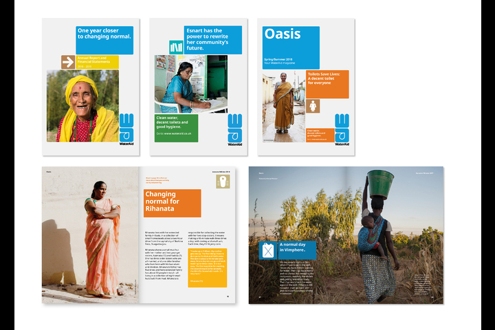 WaterAid Global Rebrand - Charity - WaterAid
