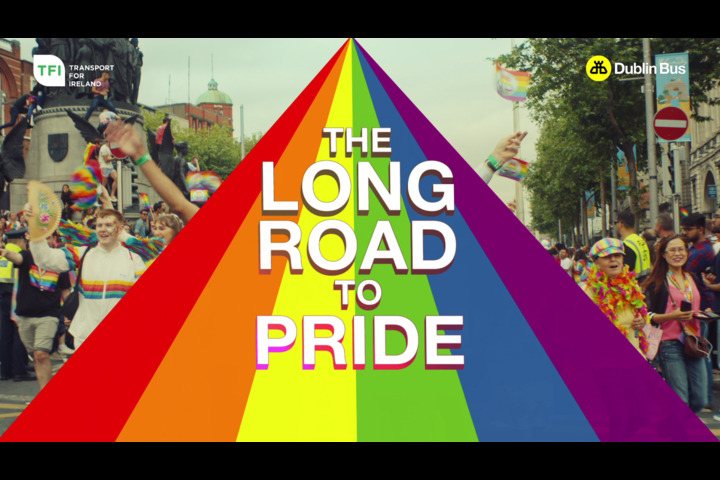 The Road to Pride - Dublin Bus - Dublin Bus