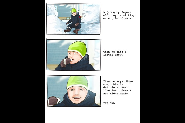 Henrik's script - Kid's meals - Saarioinen