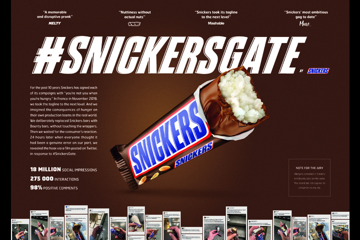 #SnickersGate - Snacks - Snickers