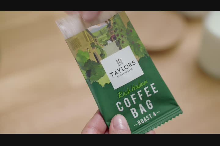 Why Didn't They Think Of Them Before? - Coffee Bags - Taylors of Harrogate