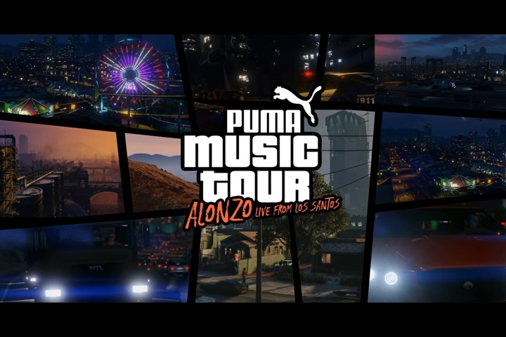 PUMA Alonzo's Virtual Music Tour on GTA - Athletic and casual footwear, apparel and accessories - PUMA