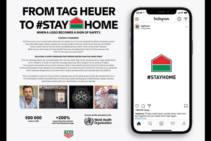 #STAYHOME - watches - TAG Heuer
