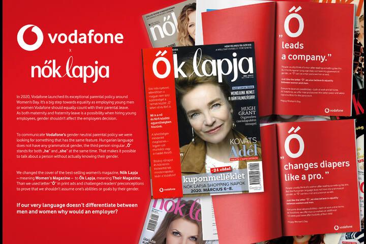The power of 'Ő' - Vodafone - Telecommunication