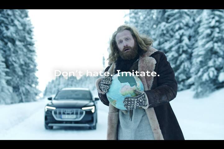 Don't Hate. Imitate. - The Super Bowl Clapback - Automotive - Audi Norway