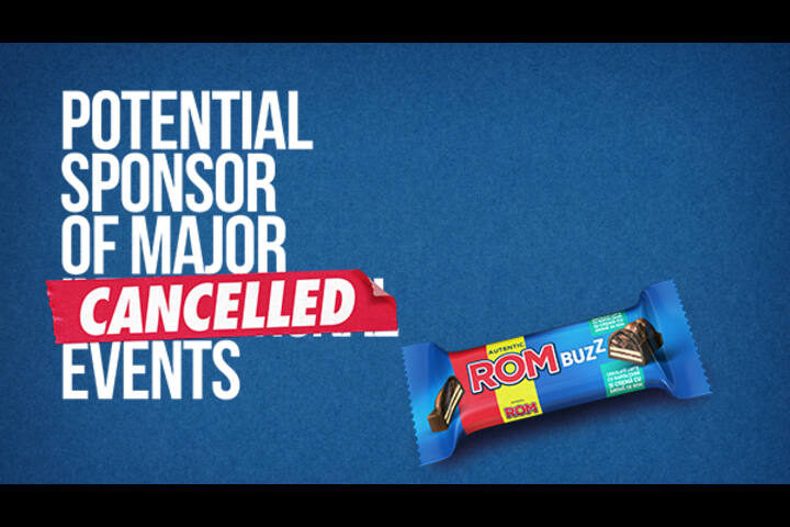 SPONSOR OF CANCELLED EVENTS - ROM BUZZ - ROM