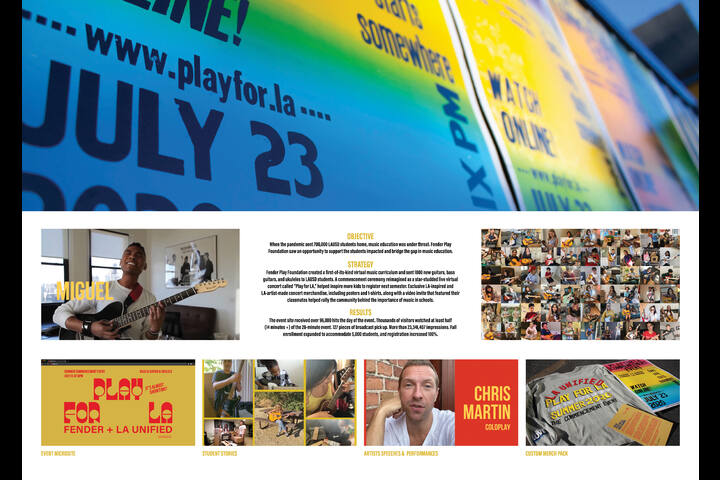 Play for LA - Fender Play Music Education Program for Los Angeles Unified School District Students - Fender Play Foundation and LAUSD