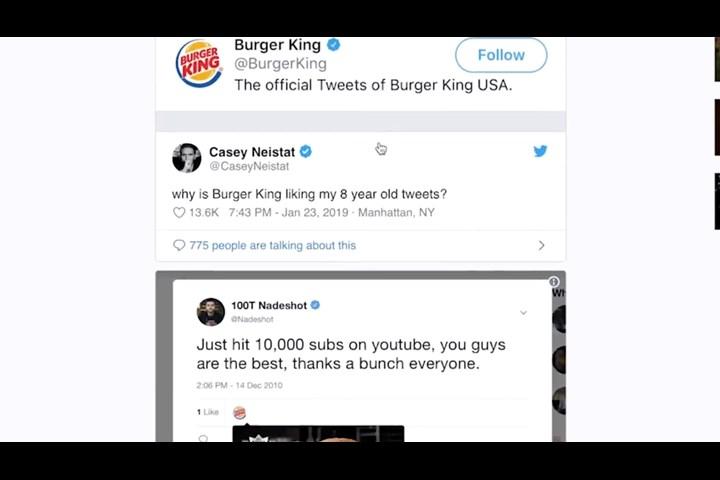 Twitterbait - Funnel Cake Fries - Burger King