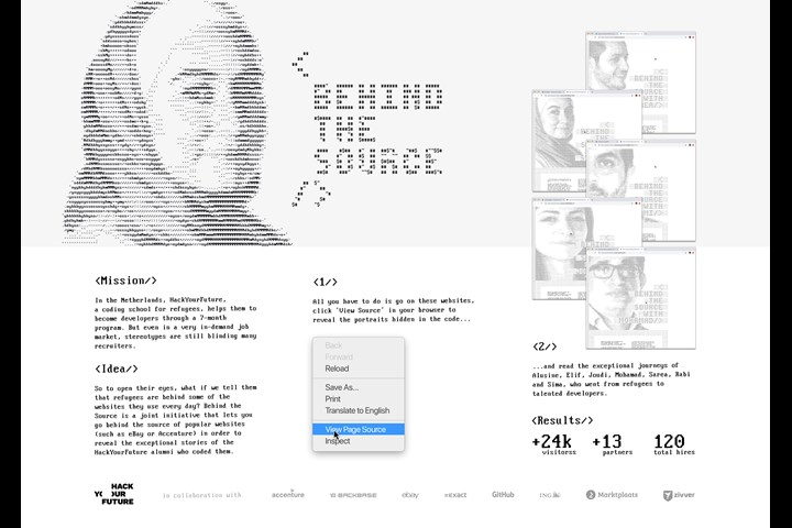 HackYourFuture - Behind The Source - A coding school for refugees - HackYourFuture