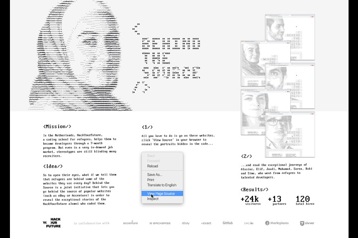 HackYourFuture - Behind The Source - HackYourFuture - A coding school for refugees