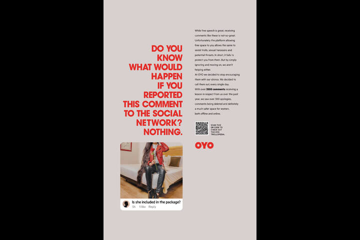 Making Online A Safe Space For Women - OYO Hotels & Homes - OYO