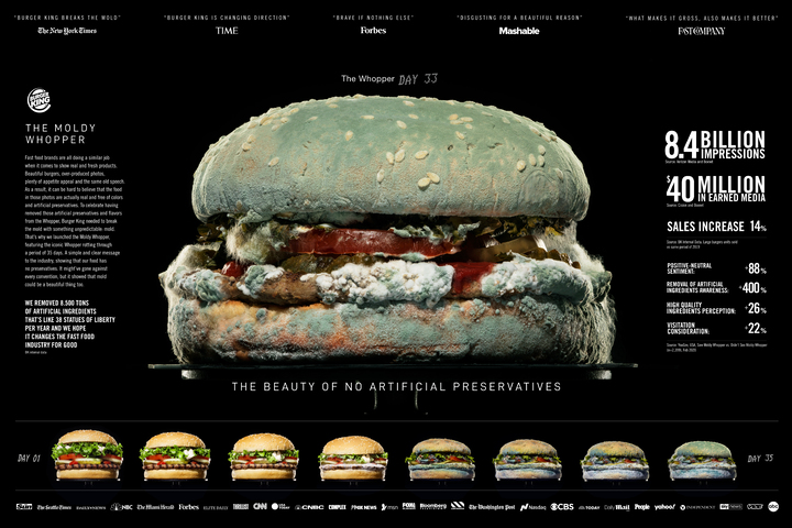 Moldy Whopper - Burger King / Miami - Moldy Whopper