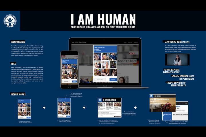 I am human - IGFM e.V. - IGFM e.V.