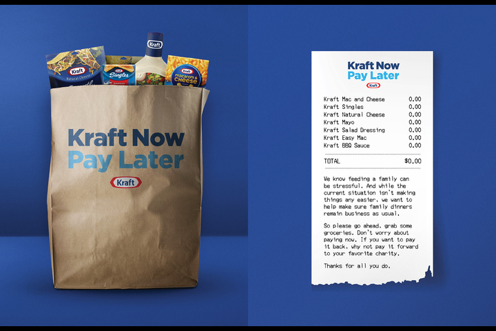 Kraft Now Pay Later - - Kraft Heinz