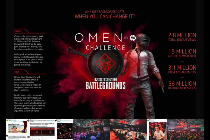 OMEN by HP Challenge - - OMEN by HP (HP's Challenger Gaming Brand)