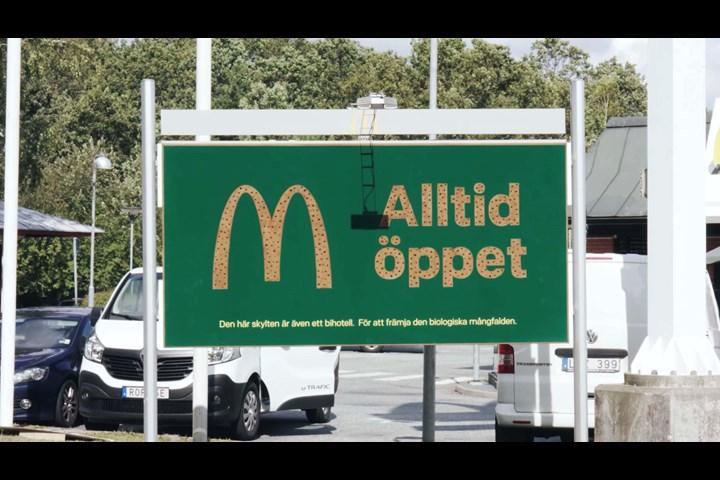 Billboard Hotels - Fast food - McDonald's