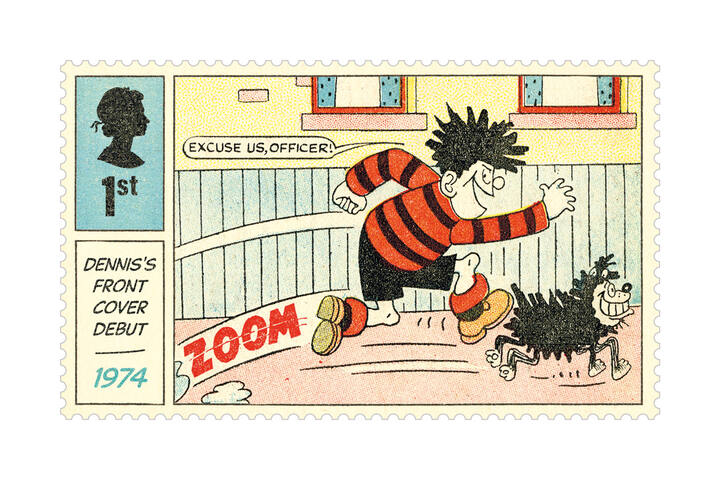 Dennis and Gnasher stamps - Special Edition Stamps - Royal Mail Stamps and Collectibles
