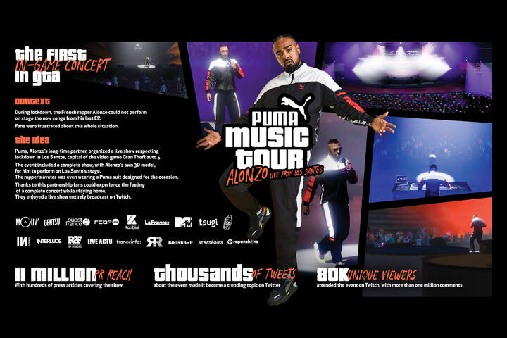 Puma Music Tour - Sportswear - Puma