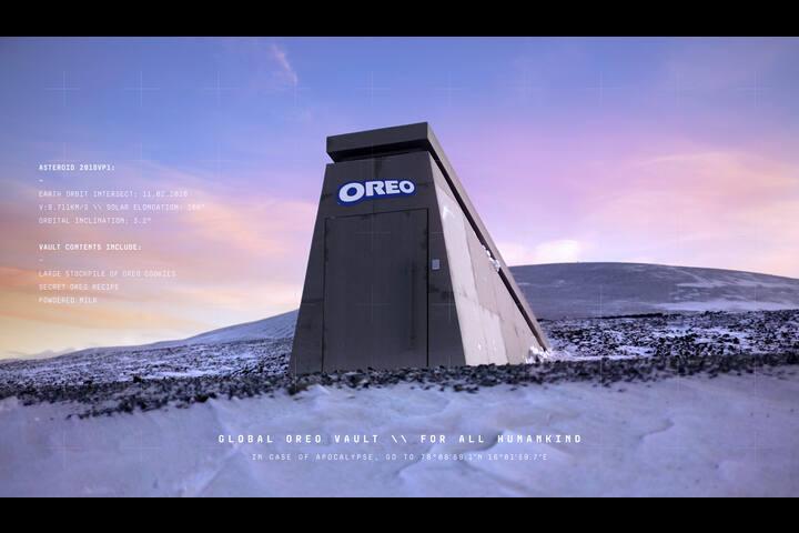 The OREO Doomsday Vault - OREO Cookies - OREO (Mondelez International Inc)