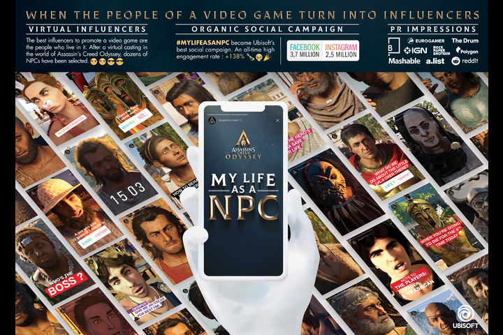 My Life as an NPC - ASSASSINS CREED GAME - UBISOFT