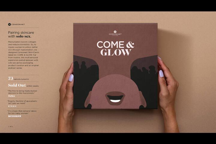 Come & Glow - Come & Glow Kit - Consonant Skin+Care