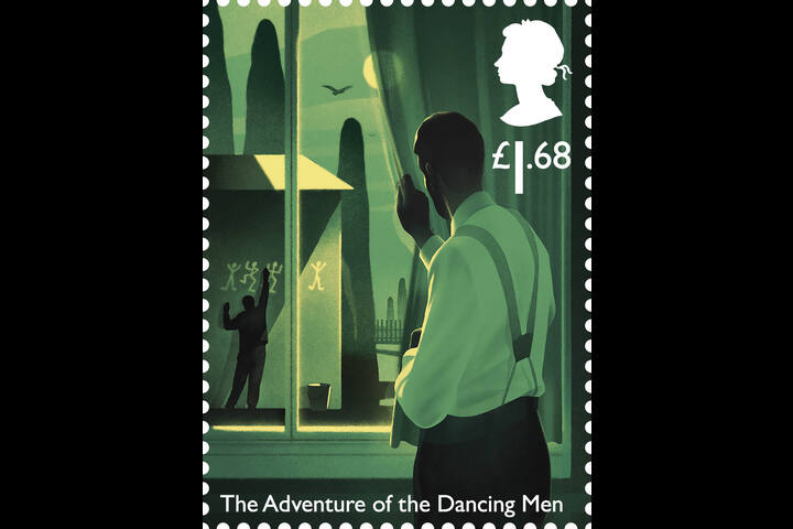 Sherlock Holmes - stamps - The Royal Mail