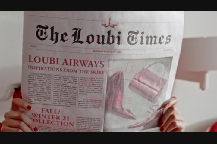 LOUBI AIRWAYS - Heavy TV -http://www.heavy.tv/ - Christian Louboutin