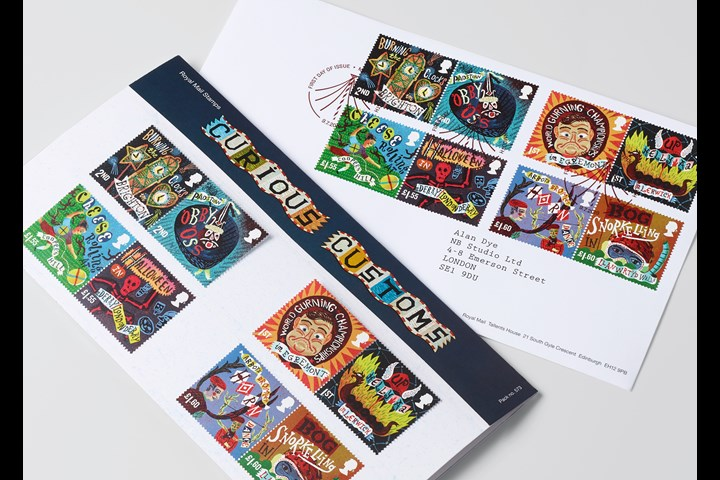Curious Customs - Stamps - Royal Mail