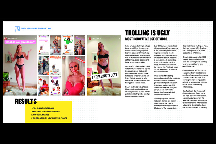 The Cybersmile Foundation - Trolling Is Ugly -