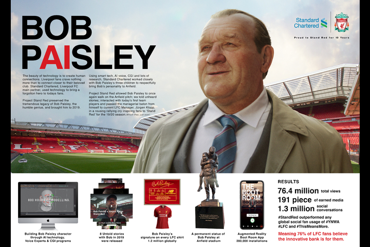 Project Stand Red : Bob Paisley - Bank - Standard Chartered