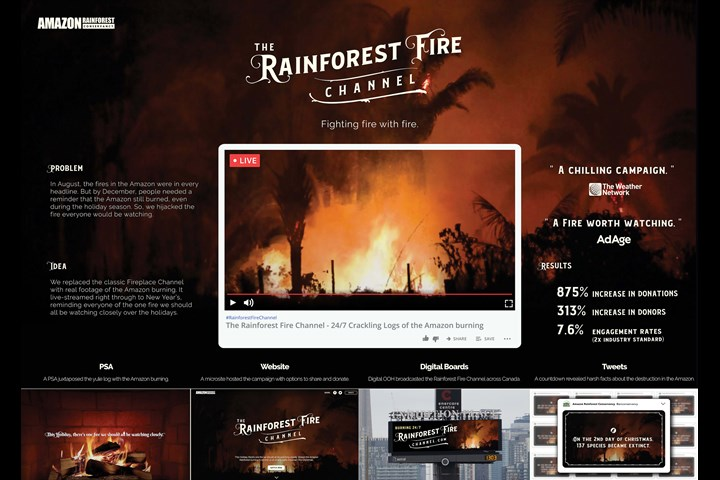 The Rainforest Fire Channel - Amazon Rainforest Conservancy - Amazon Rainforest Conservancy