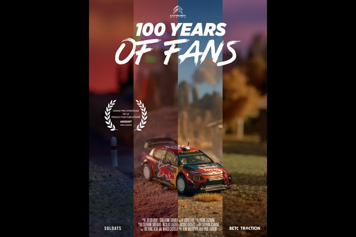 100 years of fans - Citroën WRC - WRC - Automobiles Citroën