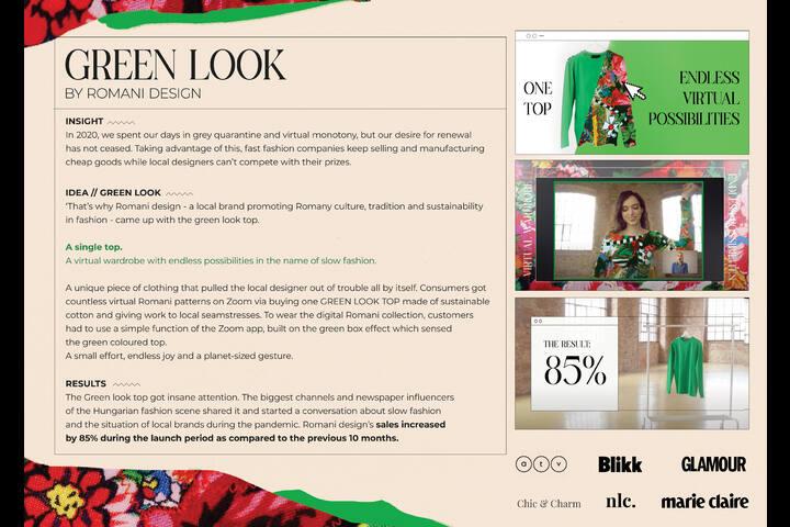 Green Look - Retail / Fashion - Romani Design