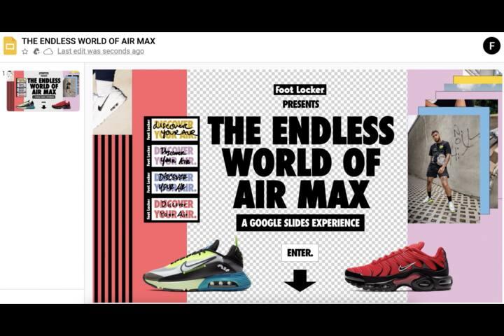Endless World of Airmax - Foot Locker - Foot Locker