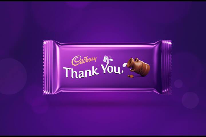 Thank You - Mondelez India - Cadbury Dairy Milk