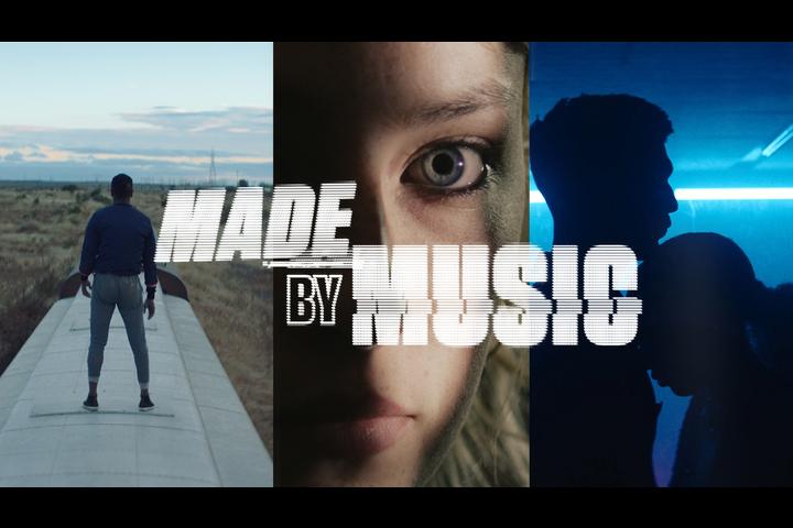 Made by Music - Three - Music sponsorship