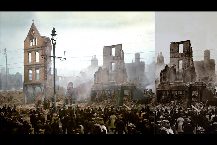 Cork 1920 | The Burning of a City - Visitor Exhibition - St Peter's Cork